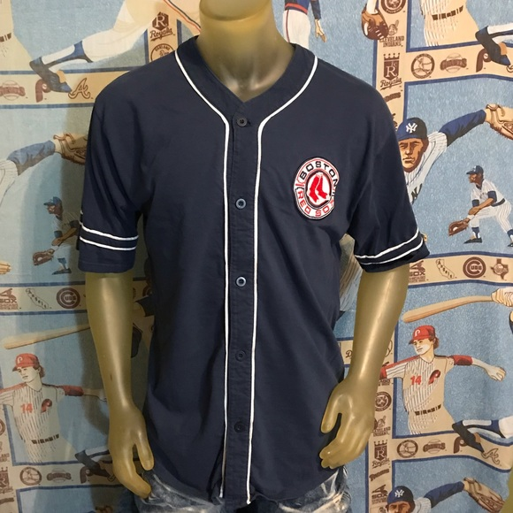 Vintage Other - Vintage Boston Red Sox MLB Jersey Style Shirt